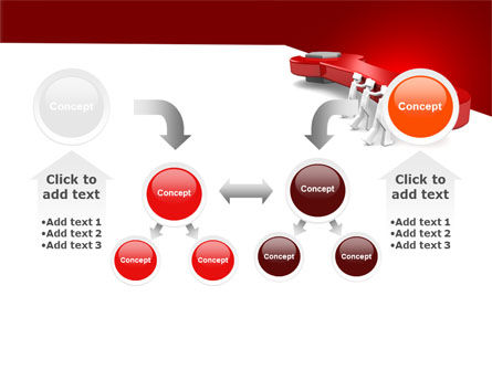Red Wrench PowerPoint Template Slide 19