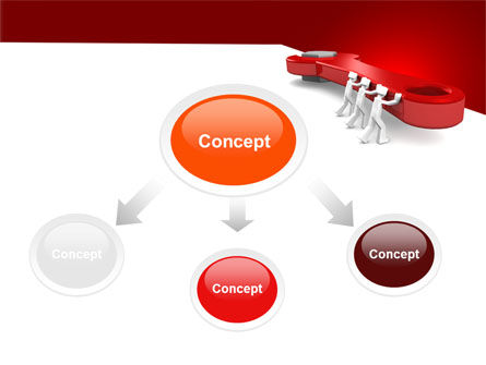 Red Wrench PowerPoint Template Slide 4