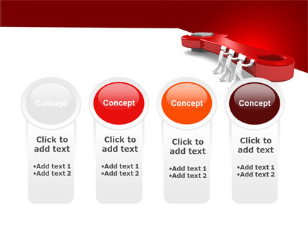 Red Wrench PowerPoint Template Slide 5