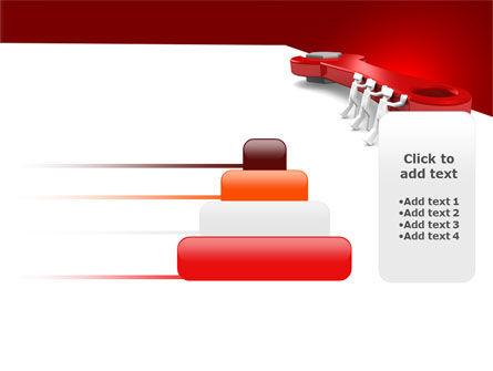 Red Wrench PowerPoint Template Slide 8