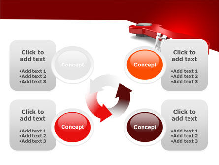 Red Wrench PowerPoint Template Slide 9
