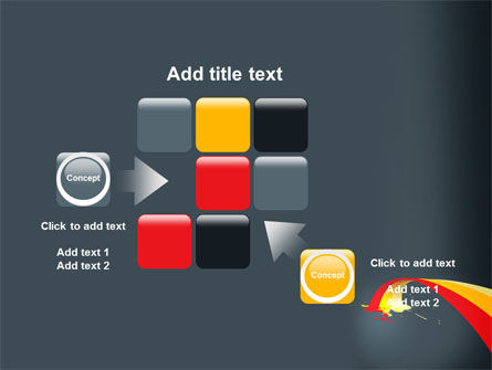 Yellow Red Stripes PowerPoint Template Slide 16
