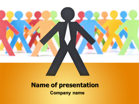 Diverse People PowerPoint Template, 07456, Business — PoweredTemplate.com