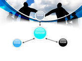 People Circle PowerPoint Template#14