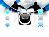 People Circle PowerPoint Template#17