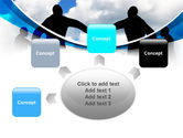 People Circle PowerPoint Template#7
