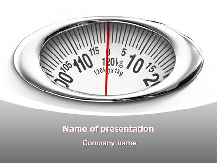 Scales PowerPoint Template, 07459, Medical — PoweredTemplate.com