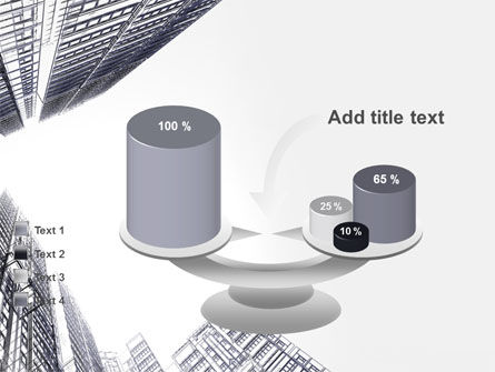 Business Center In Graphic Mode PowerPoint Template Slide 10