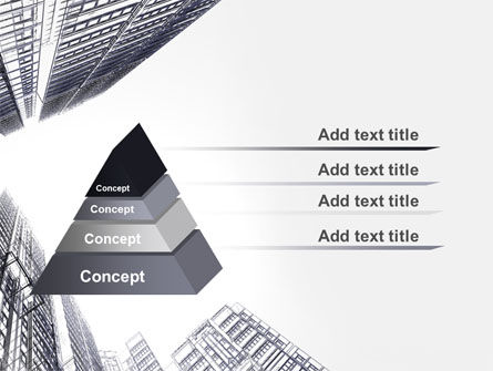 Business Center In Graphic Mode PowerPoint Template Slide 12