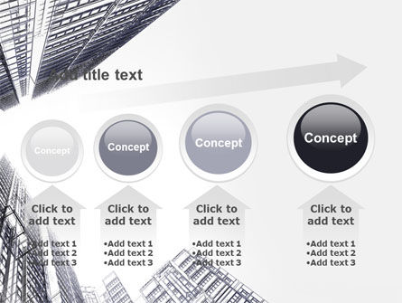 Business Center In Graphic Mode PowerPoint Template Slide 13