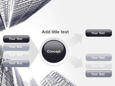 Business Center In Graphic Mode PowerPoint Template Slide 14