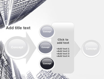 Business Center In Graphic Mode PowerPoint Template Slide 17