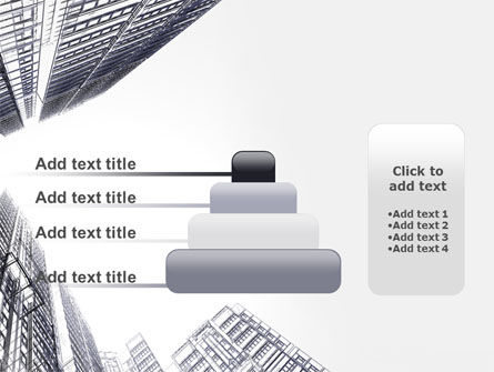 Business Center In Graphic Mode PowerPoint Template Slide 8