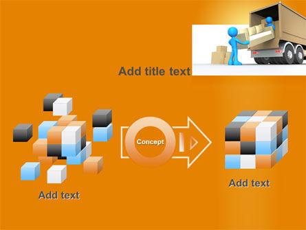 Loading Transport PowerPoint Template Slide 17