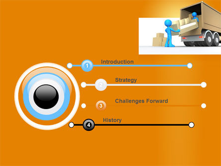 Loading Transport PowerPoint Template, Slide 3, 07461, Careers/Industry — PoweredTemplate.com