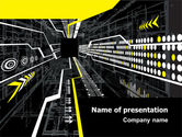 Technology and Science: Flows PowerPoint Template #07462