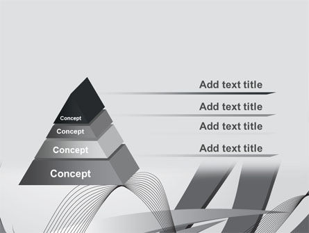 Gray Stripes PowerPoint Template Slide 12