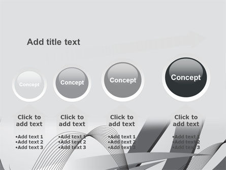 Gray Stripes PowerPoint Template Slide 13