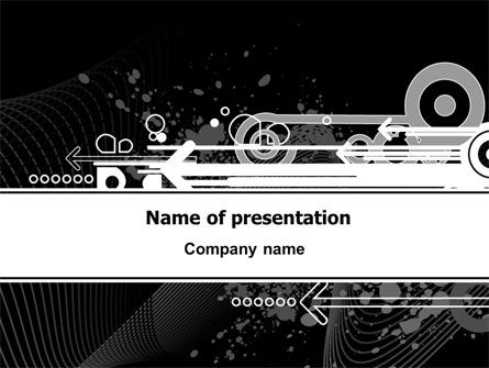 Forward PowerPoint Template, 07465, Abstract/Textures — PoweredTemplate.com