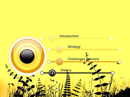 Grass Free PowerPoint Template, Slide 3, 07466, Nature & Environment — PoweredTemplate.com