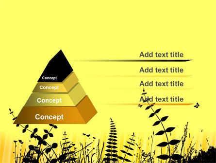 Grass Free PowerPoint Template, Slide 4, 07466, Nature & Environment — PoweredTemplate.com
