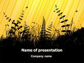 Nature & Environment: Gras Kostenlose PowerPoint Vorlage #07466