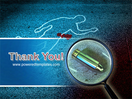 Crime Scene Investigation PowerPoint Template Slide 20