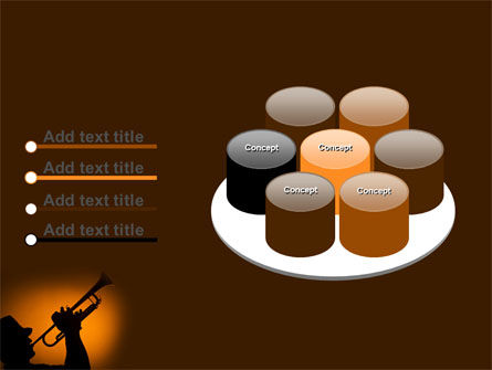 Trumpeter PowerPoint Template Slide 12