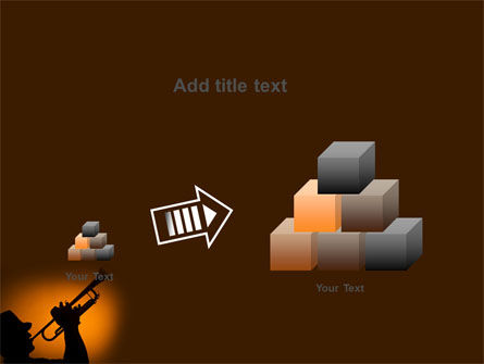 Trumpeter PowerPoint Template Slide 13