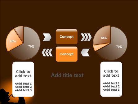 Trumpeter PowerPoint Template Slide 16