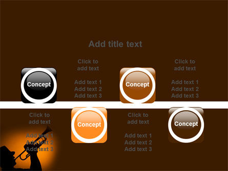 Trumpeter PowerPoint Template Slide 18