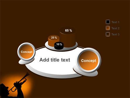 Trumpeter PowerPoint Template Slide 6