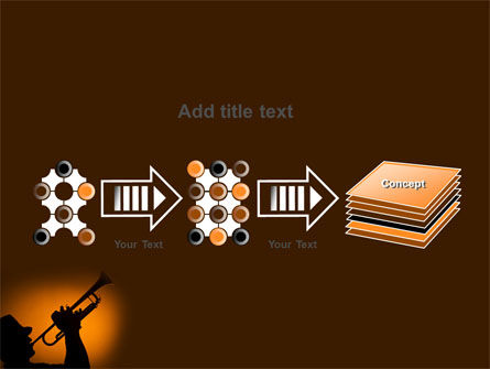 Trumpeter PowerPoint Template Slide 9