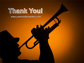 Trumpeter PowerPoint Template#20