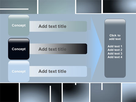 Square Design PowerPoint Template Slide 12