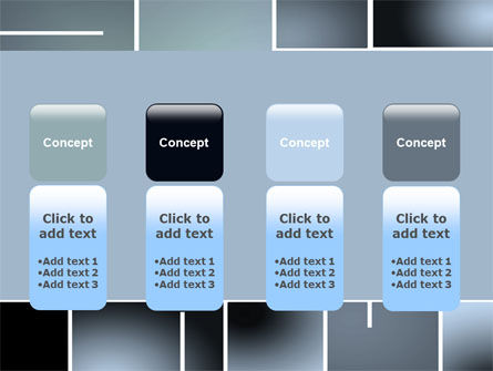 Square Design PowerPoint Template Slide 5