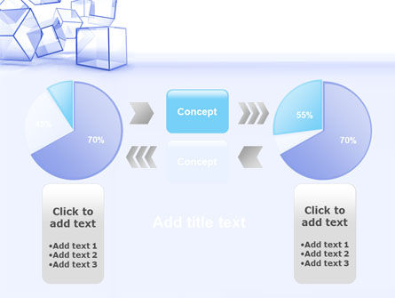 Glass Cube PowerPoint Template Slide 11