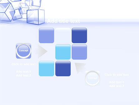 Glass Cube PowerPoint Template Slide 16