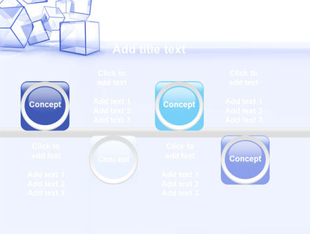 Glass Cube PowerPoint Template Slide 19