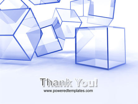 Glass Cube PowerPoint Template Slide 20