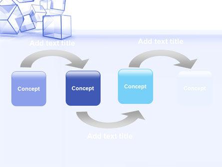 Glass Cube PowerPoint Template, Slide 4, 07475, Business — PoweredTemplate.com