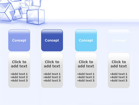 Glass Cube PowerPoint Template Slide 5
