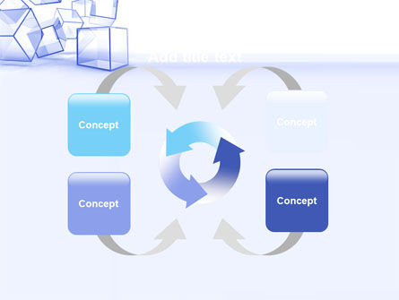 Glass Cube PowerPoint Template Slide 6