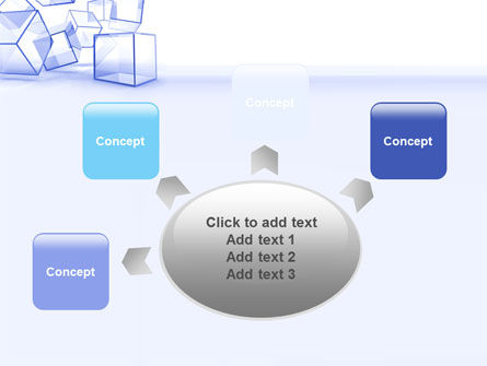 Glass Cube PowerPoint Template Slide 7