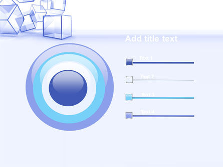 Glass Cube PowerPoint Template Slide 9