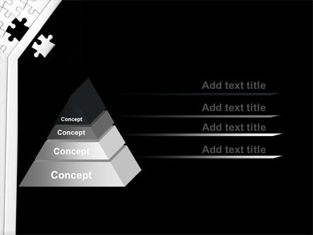 Contrast Puzzle PowerPoint Template Slide 12