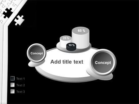 Contrast Puzzle PowerPoint Template Slide 16