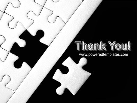 Contrast Puzzle PowerPoint Template Slide 20