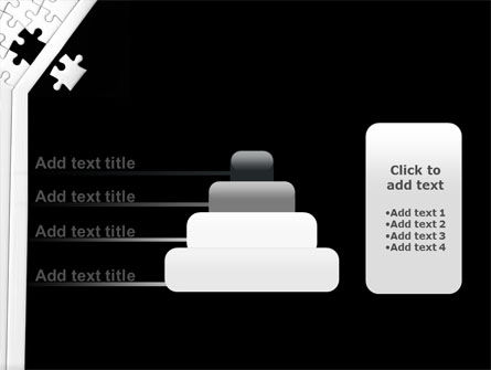 Contrast Puzzle PowerPoint Template Slide 8