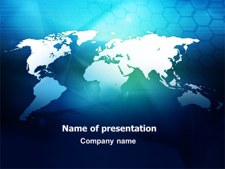Cells Of World PowerPoint Template